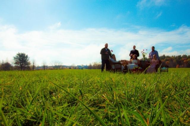 Enjoying Company - WillowsAwake Winery