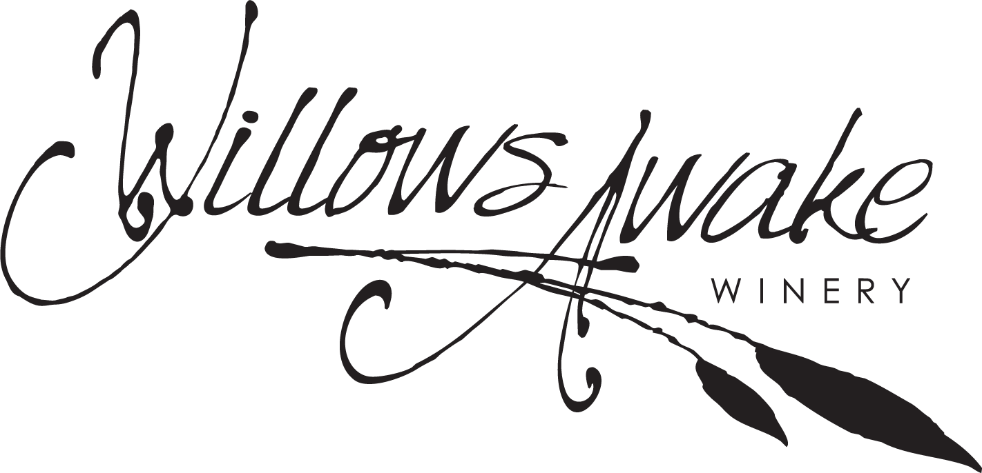 WillowsAwake Winery logo Black